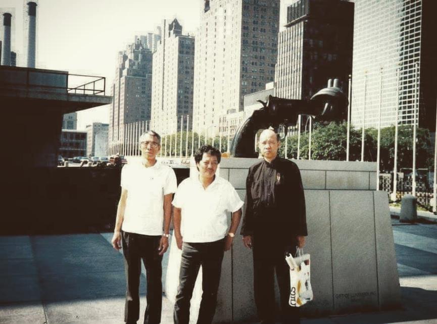 Grandmasters Chu Shong Tin Wong Shun Leung Moy Yat